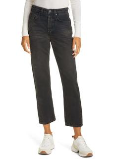 rag & bone Maya Nonstretch High Waist Ankle Slim Jeans (Highland)