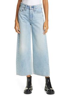 rag & bone Maya Nonstretch High Waist Ankle Wide Leg Jeans (Walker)