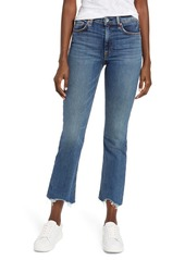rag & bone Nina High Waist Ankle Flare Jeans
