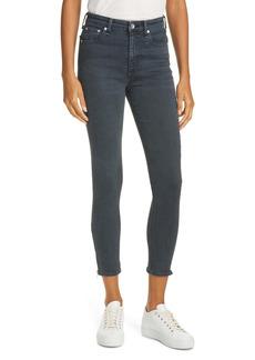 rag & bone Nina High Waist Ankle Skinny Jeans (Minna)