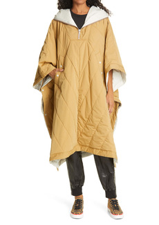 rag & bone Quilted Cotton Blend Poncho