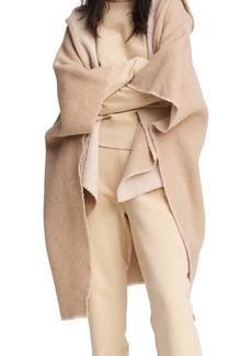 rag & bone Rogue Reversible Wool Hooded Poncho