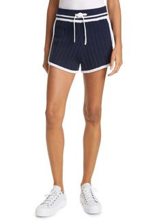rag & bone Serena Merino Wool Blend Knit Shorts