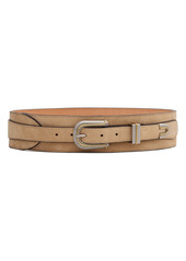 rag & bone Ventura Leather Belt