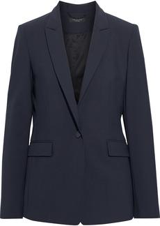 Rag & Bone Woman Hazel Wool-blend Blazer Midnight Blue
