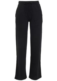Rag & Bone Woman Surplus Stretch French Modal And Cotton-blend Terry Track Pants Black
