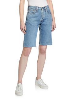 rag & bone Rosa Mid-Rise Bermuda Shorts