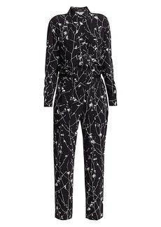 rag & bone Therese Print Shirt Jumpsuit