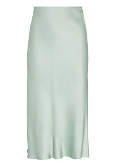 Rails Anya Satin Midi Skirt