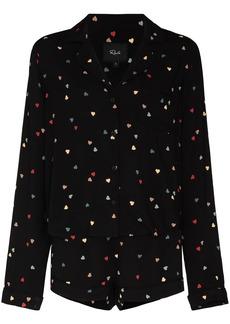 Rails Kellen heart-print two-piece pyjamas