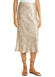 Rails Anya Cheetah Print Midi Skirt