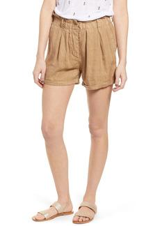 Rails Monty Linen Blend Shorts