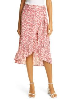 Rails Neptune Ruffle Floral Faux Wrap Skirt
