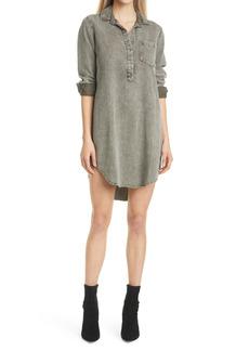 Women's Rails Acid Wash Long Sleeve Tunic Shirtdress