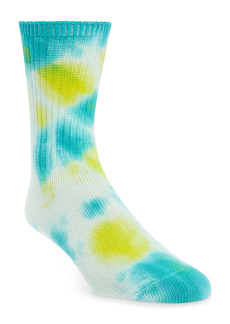 Rainbow Unicorn Birthday Surprise Janis Tie Dye Crew Socks