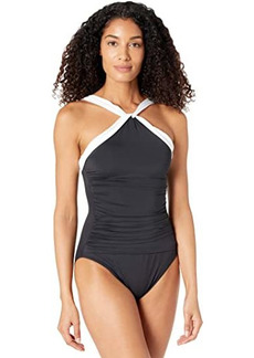 Ralph Lauren Bel Air High Neck One-Piece