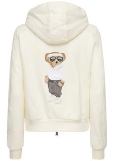 Ralph Lauren Cotton Jersey Zip-up Sweatshirt Hoodie