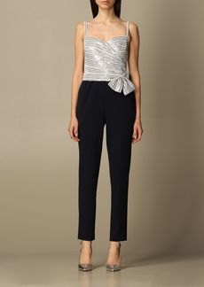 Lauren Ralph Lauren Dress Lauren Ralph Lauren Long Jumpsuit With Sequin Top