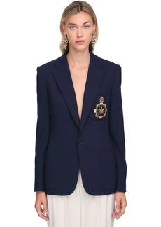 Ralph Lauren Light Wool Blend Single Breasted Jacket