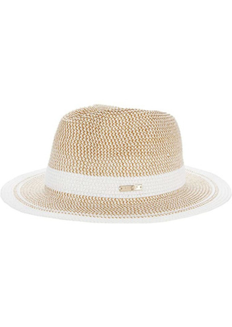Ralph Lauren Packable Marled Stripe Fedora