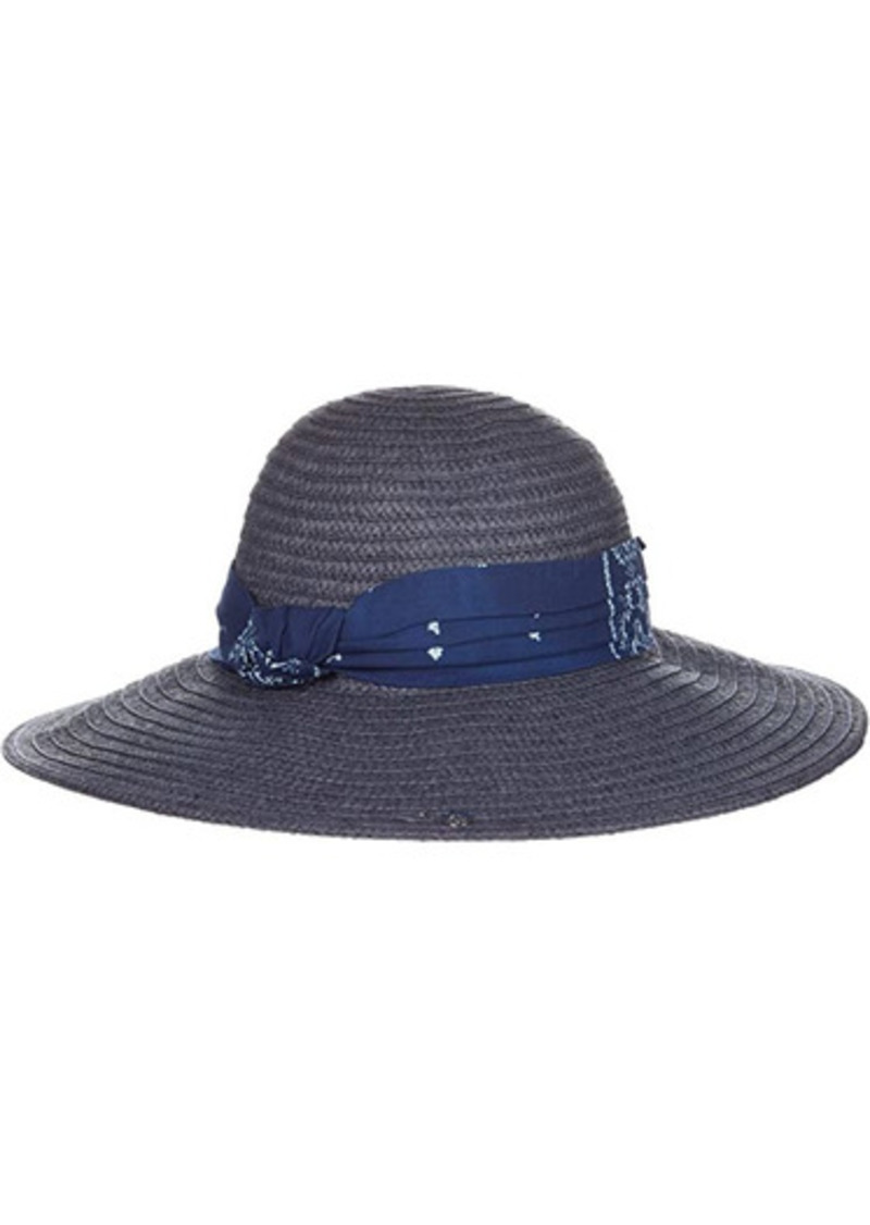 Ralph Lauren Packable Sun Hat with Fabric Band