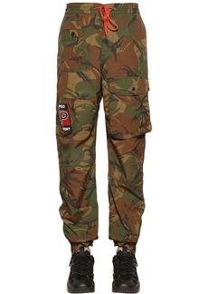 Ralph Lauren Polo Camouflage Print Nylon Pants