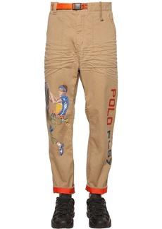 Ralph Lauren Polo Oversized Cotton Blend Twill Pants