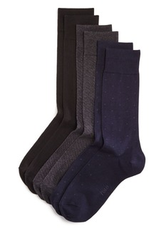Ralph Lauren Polo Polo Ralph Lauren Assorted Dress Socks, Pack of 3