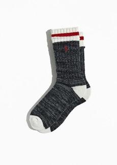 Ralph Lauren Polo Polo Ralph Lauren Wool Ragg Hiker Boot Sock