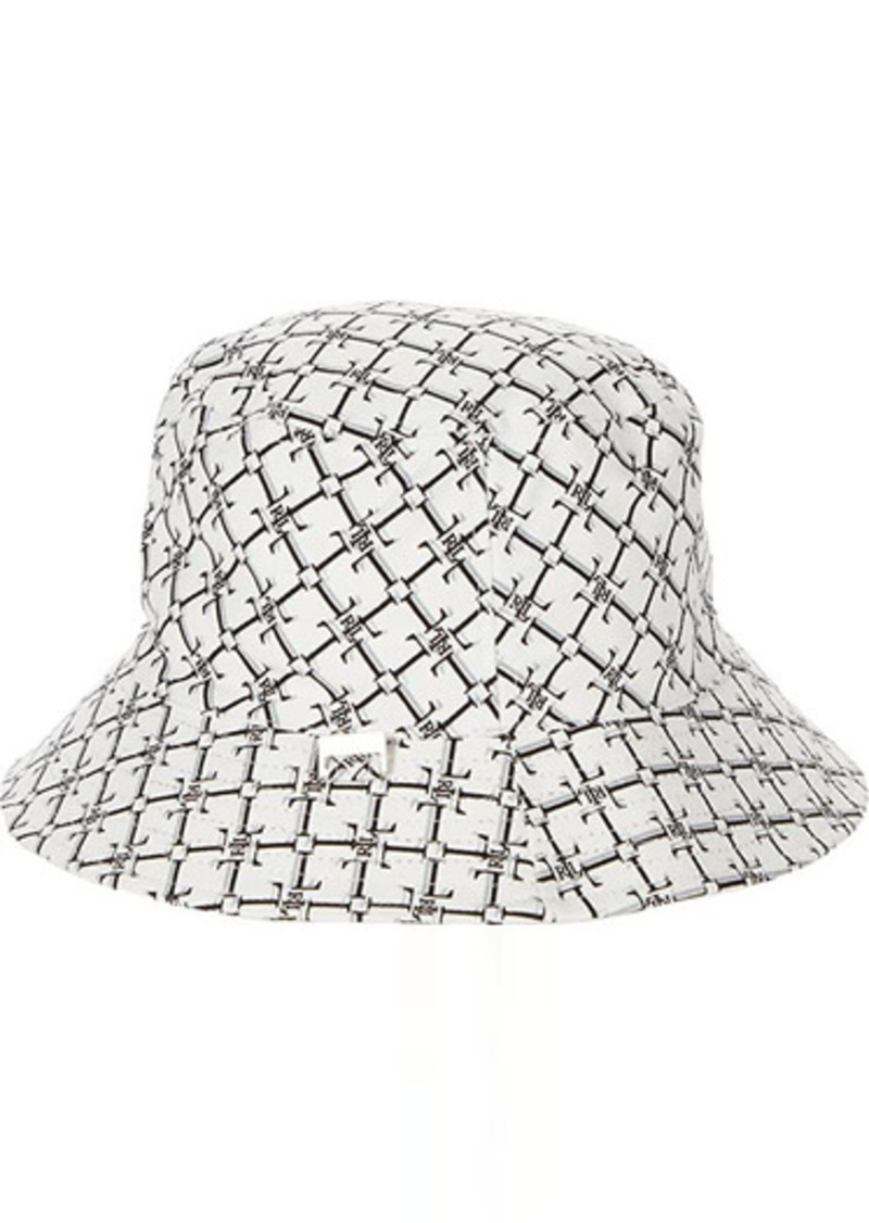 Ralph Lauren Reversible Water Resistant Logo Bucket Hat