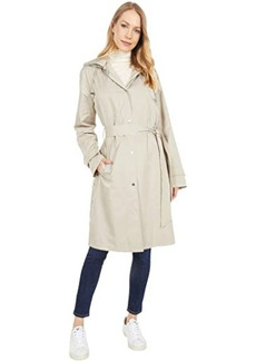 Ralph Lauren Single Breasted Silky Memory Trench