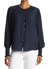Ramy Brook Isla Button Down Blouse