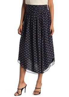 Ramy Brook Printed Layla Silk Skirt