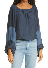 Ramy Brook Analisa Colorblock Top