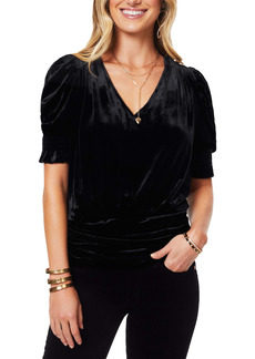 Ramy Brook Flora Velvet Top