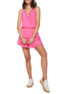 Ramy Brook Jojo Smocked Waist Minidress