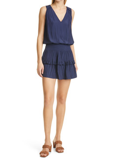 Ramy Brook Kiara Sleeveless Smock Waist Dress