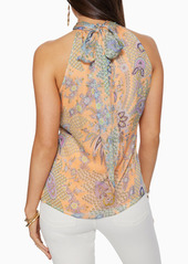 Ramy Brook Lori Floral Paisley Halter Neck Top