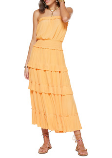Ramy Brook Natalie Bellini Strapless Maxi Dress