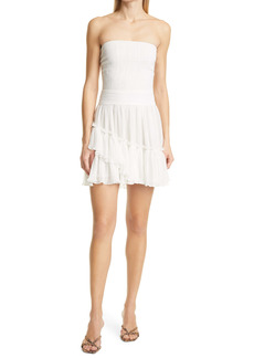 Ramy Brook Nikki Strapless Smock Bodice Dress