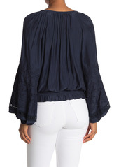 Ramy Brook Romy Embroidered Blouse