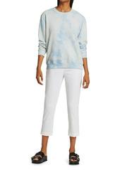Raquel Allegra Classic Tie-Dye Sweatshirt
