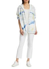 Raquel Allegra Painted Zip-Up Jacket