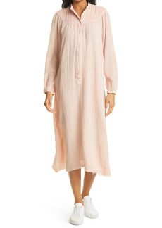 Raquel Allegra Serenity Long Sleeve Midi Dress