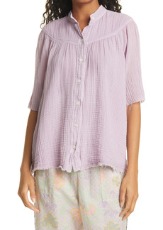 Raquel Allegra Serenity Short Sleeve Top