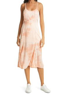 Raquel Allegra Sienna Tie Dye Midi Dress