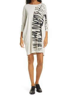 Raquel Allegra Tie Dye Cotton Tunic Dress