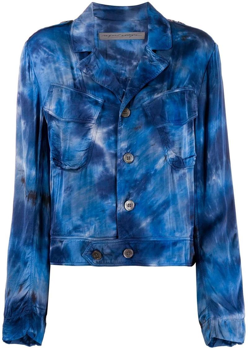 Raquel Allegra tie dye print jacket