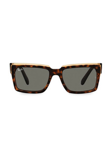 Ray-Ban 54MM Ombre Tortoiseshell Square Sunglasses