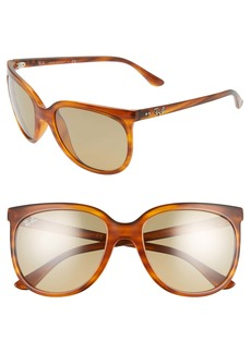 Ray-Ban 57mm Cat Eye Sunglasses